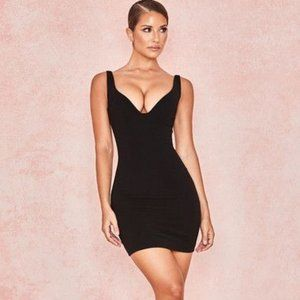 House of CB Black Jeanine Night Out Bodycon Dress